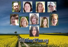 WeHaveAFace.org - Meet the Regional Advocates! The Huntington's Disease Project!