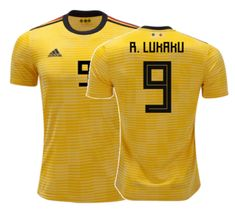e96e1a2f7 Men 9 Romelu Lukaku Jersey Soccer Belgium Jersey 2018 World Cup Jersey