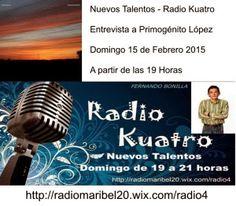 opinión-debate: Nuevos Talentos (16/02/15) Entrevista a Primogénit...