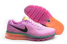 a7718ece30a98a Find Womens Nike Air Max 2014 Mesh Pink Black Orange Online online or in  Pumaslides. Shop Top Brands and the latest styles Womens Nike Air Max 2014  Mesh ...