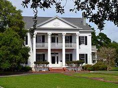 Arlington Plantation, circa 1830, in Franklin, Louisiana