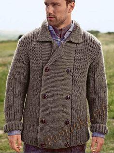 Куртка (м) 06*177 Bergere de France №4521