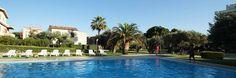 Hotel Rada Siti pool in the garden