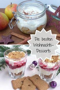 Christmas Recipes The best Christmas desserts Best Christmas Desserts, Winter Desserts, Apple Desserts, Delicious Desserts, Dessert Recipes, Christmas Drinks, Christmas Christmas, Puff Pastry Recipes, Shawarma
