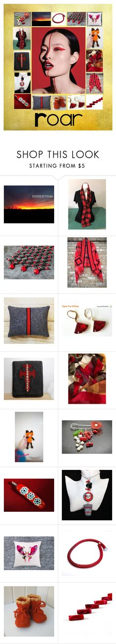 """""""Roar: Stunning Handmade Gift Ideas for Her"""" by paulinemcewen on Polyvore featuring Nature Home Decor and vintage"""
