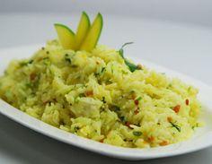 Raw Mango Rice Recipe.