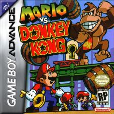 Mario vs. Donkey Kong Nintendo Game Boy Advance cover artwork