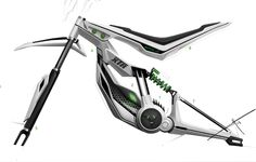 e-bike sketch on Behance