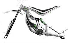 e-bike sketch on Behance