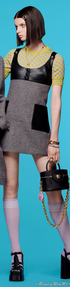 Versace Fashion, Couture Fashion, Resort Wear, Lanvin, Beautiful Outfits, High Fashion, Peplum Dress, Ready To Wear, Style Box