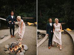 OREGON CAMP WEDDING EAGLE FERN