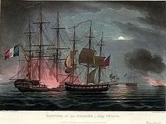'Pray tell us about the action in the Dart,' said Jack, filling Dillon's glass. 'I have heard so many different accounts...' 'Capture of Désirée by HMS Dart