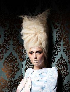 "Joanne O'Neil Hairdressing  BAROCK Hair: Joanne O'Neill Photography: Jim Crone Make-up: Paddy McGurgan Styling: stylecreative ""Barock"" takes..."