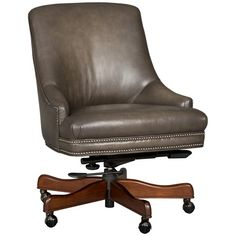 Hooker Furniture Executive Seating Executive Swivel Tilt Chair | Baer's Furniture | Executive Desk Chair Boca Raton, Naples, Sarasota, Ft. Myers, Miami, Ft. Lauderdale, Palm Beach, Melbourne, Orlando, Florida