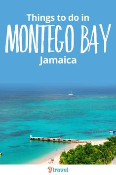Travel tips on things to do in Montego Bay, Jamaica. See inside for tips on planning your vacation.  Including 3 of the best all inclusive resorts in Montego Bay, 3 of the best Restaurants in Montego Bay, excursions in the area, and 3 fun things to do in this Caribbean destination. Make the most of your honeymoon or family vacation by planning with this guide! #MontegoBay #Jamaica #travel #traveltips #familyvacation #Caribbean