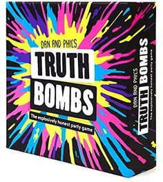 Truth Bombs: A Party Game by Dan and Phil – Tonys Toys and Games Games For Teens, Adult Games, Fun Board Games, Fun Games, Dan Und Phil, Fun Teen Party Games, Would You Rather Game, Church Games, Writing