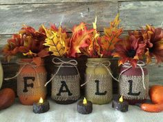 Easy to make / buy fall decor
