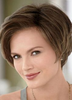 Flattering Bob Style Side-swept Side Bang Human Hair Short Wig [wwd215] - $146.99 :