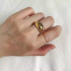 Clean Sterling Silver, Chunky Rings, Stackable Rings, 18k Gold, Gold Bands, Statement Rings, Fashion Rings, Band Rings, Plating