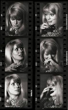 wandrlust:  Catherine Deneuve on the set of Repulsion, 1964 — Eric Swayne