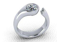 Custom Diamond Ring Design by Images Jewelers #customjewelry #imagesjewelers #diamond #ring