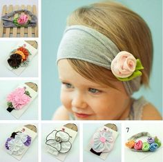 Cheap headband crochet, Buy Quality accessories headband directly from China headband peacock Suppliers: China Post Ordinary Small Packet Plus: Order Buy baby hair accessories New Children headbands female child hair bands flowers accessories at Mama Homemade Baby Headbands, Newborn Headbands, Baby Girl Headbands, Elastic Headbands, Baby Girl Newborn, Baby Girls, Kids Girls, Flower Hair Band, Flowers In Hair
