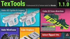 Textools for Blender 1.1 released