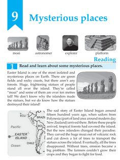 English Grade 7 Mysterious Places http://language.wordzila.com/english-book-grade-7-mysterious-places/