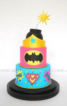 Super Girl #Cake #CustomCake #Fondant