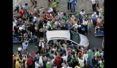 Pope Francis gets boisterous welcome in Brazil — MSNBC