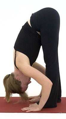I used this primer to build a morning and evening yoga sequence focusing on releasing the hips and hamstrings to relieve back pain. I also practice handstand because it's fun!