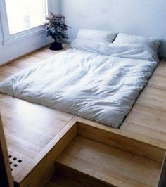 Podium bed...I want this!