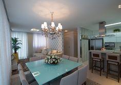Apartamento na Praia - By Rubia Bizarri, do escritório Traço Design Interiores.