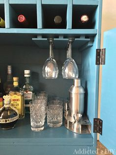 IKEA Tarva Hack: 3 Drawer Chest to Bar Cabinet