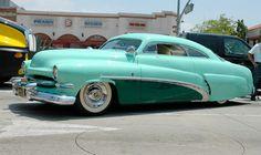 Bob Hirohata's 1951 Mercury - Customized by Barris Bros