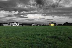 La casa amarilla. Asturias