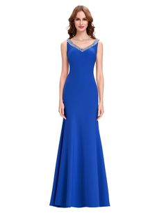 Elegant Backless Long Black Evening Bridesmaid Dress - My Wedding Ideas