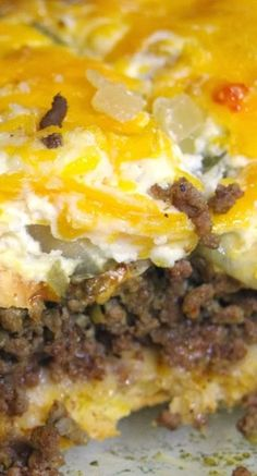 Saddle Up Partner For This Ground Beef Casserole - Recipe Patch Slow Cooker Casserole, Ground Beef Casserole, Casserole Dishes, Casserole Recipes, Entree Recipes, Beef Recipes, Cooking Recipes, Mexican Recipes, Yummy Recipes