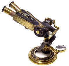 Victorian era Smith Beck & Beck, London #3114. The Universal Model Binocular Microscope c. 1862