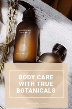 Body care has been one of the last frontiers for me in green beauty because I've spent almost all my time looking into skincare for the face, cosmetics, and hair care. Well, at 43, I'm realizing that the body needs some love too. #selfcare #body #beauty