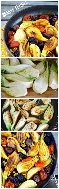 May I Have That Recipe | Gluten Free Passover Recipes Part 4: Braised Fennel with Apricots and Figs | http://mayihavethatrecipe.com