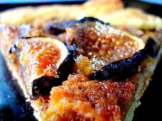 Fig Galette with Pistachio Frangipane *drool*