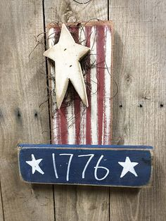 Spirit of 1776 - Uncle Sam - Americana - Primitive - Country - Rustic - Home Decor Wall Hanging Americana Crafts, Patriotic Crafts, July Crafts, Summer Crafts, Primitive Homes, Primitive Crafts, Primitive Christmas, Country Primitive, Country Christmas