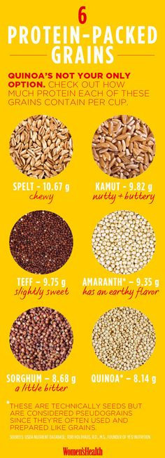Experiment with less common grains.