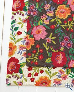 rug from bluebellgray rugs dear floral designer