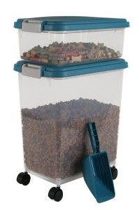 Two Airtight Storage Containers [Grain Storage] + Scoop… $12.23 | Homebrew Finds