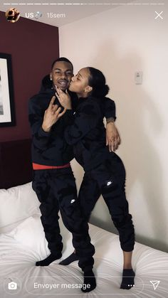 for more popping pins add Black Relationship Goals, Couple Goals Relationships, Relationship Goals Pictures, Couple Relationship, Black Couples Goals, Cute Couples Goals, Matching Couple Outfits, Matching Couples, Couples Assortis