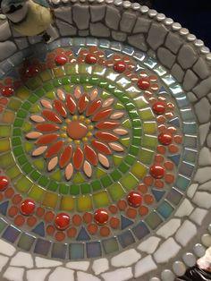 "Designs for Mosaics Templates 1201 Best Geometric Design Round Oval Mosaics Images On Of Designs for Mosaics Templates Mosaic Patterns""Around the Town"" - as I call it - mosaic! Mosaic Birdbath, Mosaic Vase, Mosaic Birds, Mosaic Flowers, Pebble Mosaic, Mosaic Garden, Mosaic Tables, Mosaic Crafts, Mosaic Projects"