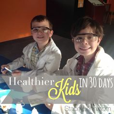 Just in time for the upcoming school year! Take the challenge to build your child's health in 30 days with nutrition and simple changes.