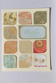 Handmade Paper Birthday Greeting Card by Scrapbooker429 on Etsy, $3.75 https://www.etsy.com/listing/151828875/handmade-paper-birthday-greeting-card?ref=shop_home_active_11